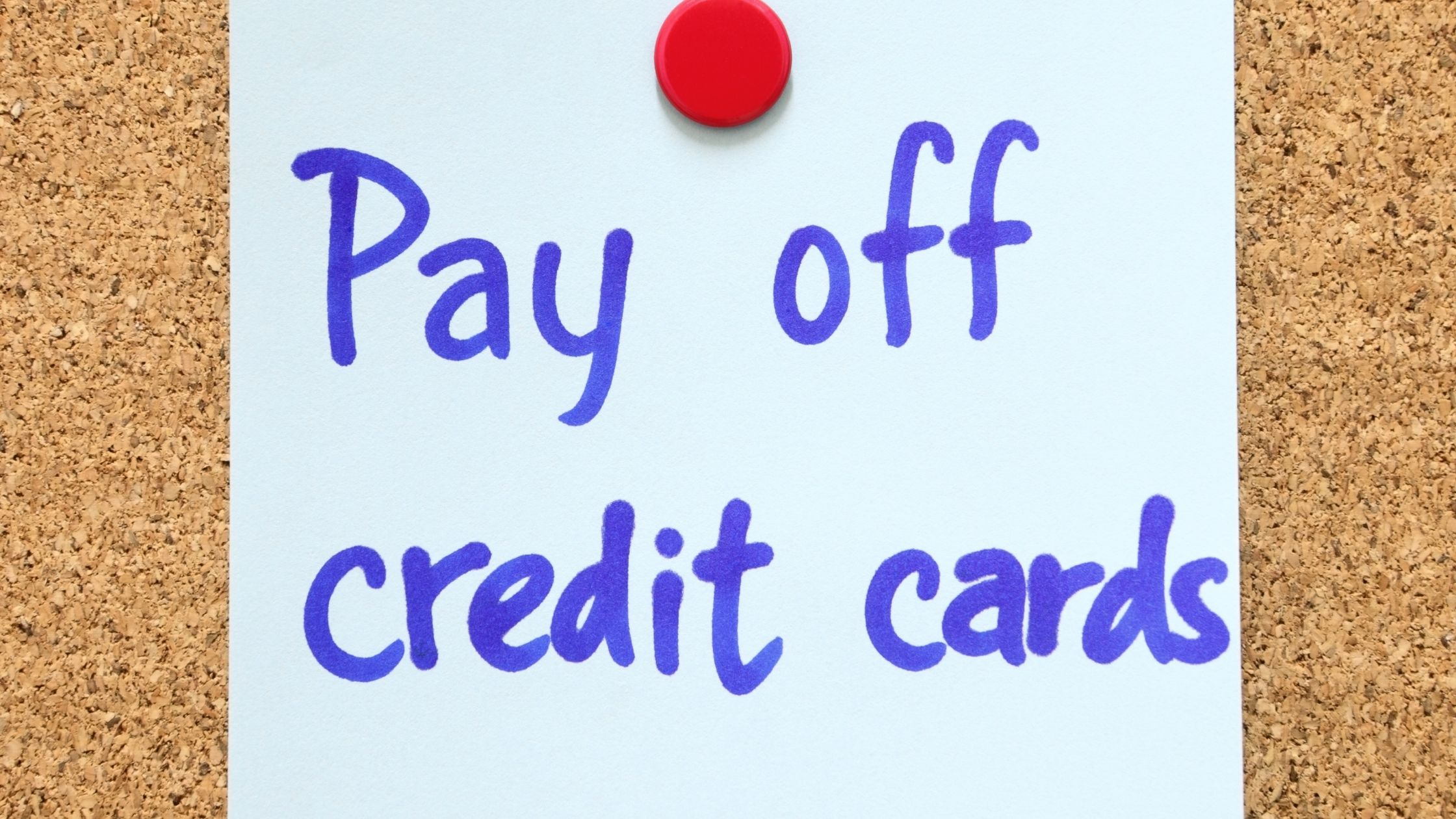 Best way to pay off credit card debt