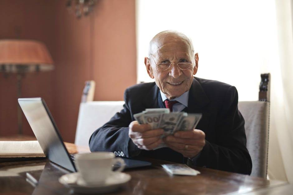 Retired man